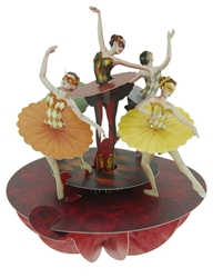 Ballet Pirouette - Display Card Blank