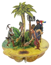Treasure Island - Display Card Blank