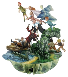 Peter Pan - Display Card Blank