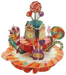 Sweets & Candy - Display Card Blank