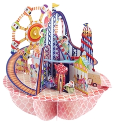 Fairground - Display Card Blank
