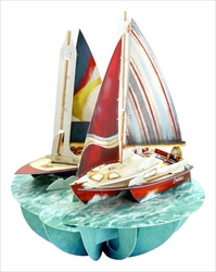 Sailing - Display Card
