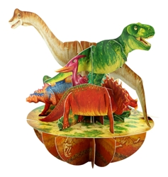 Dinosaurs - Display Card Blank