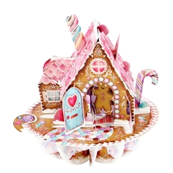 3D Gingerbread House - Christmas Card Christmas
