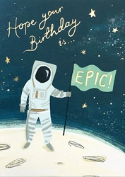 Epic Space - Birthday Card