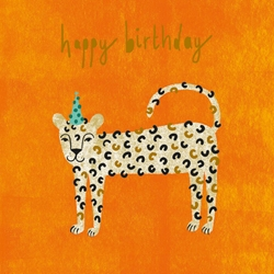 Leopard - Birthday Card Birthday