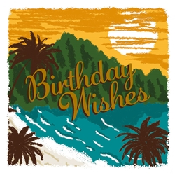 Sunset Wishes - Birthday Card Birthday