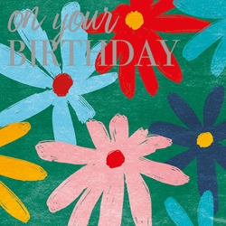 Flower - Birthday Card Birthday