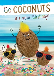 Coconuts - Birthday Cards