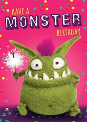 Monster - Birthday Cards