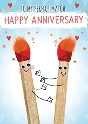 Matches - Anniversary Cards