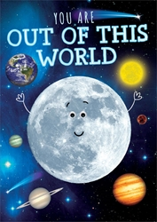 Out of World - Birthday Card