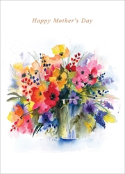 Flowers - Mothers Day Card