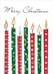 Candles - Christmas Card Christmas