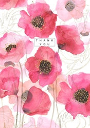 Anemones - Thank You Card