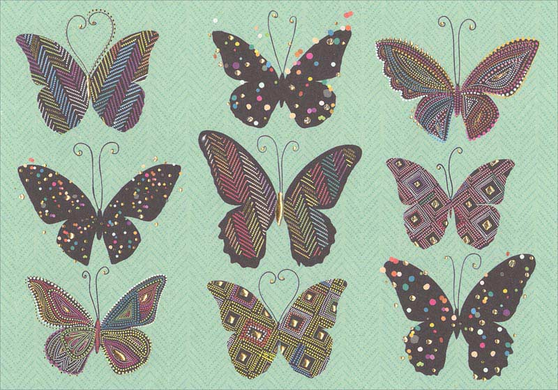 Butterfly - Thank You Card Thank You
