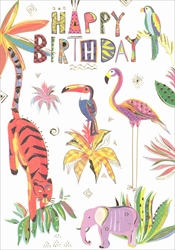 Jungle - Birthday Card Birthday