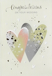 Two Hearts - Wedding Card