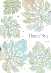 Leaves - Thank You Card
