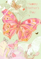 Butterfly - Mothers Day Card
