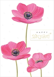 Poppies - Birthday Card