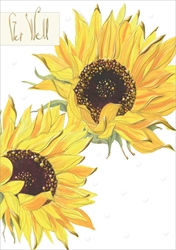 Sunflowers - Get Well Card