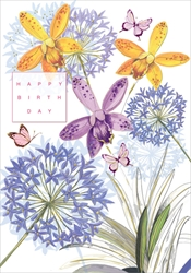 Allium - Birthday Card
