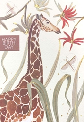 Giraffe - Birthday Card Birthday